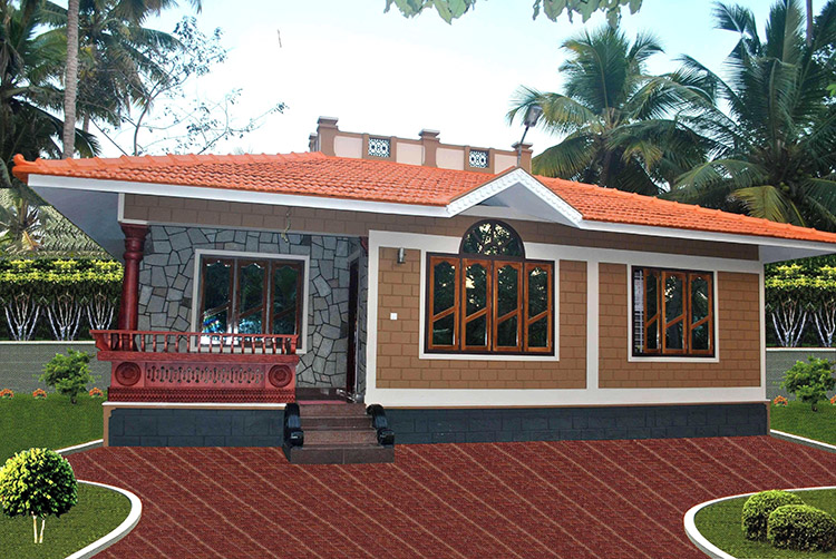 Gallery building designers chelari kerala malappuram for Low cost house plans with photos in kerala